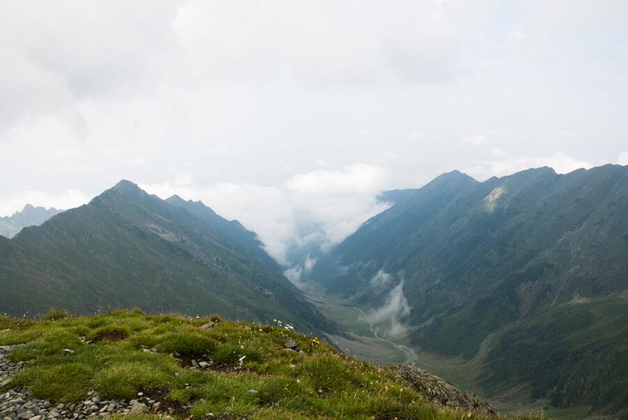 Valea Vistea (de pe Vf. Vistea Mare)