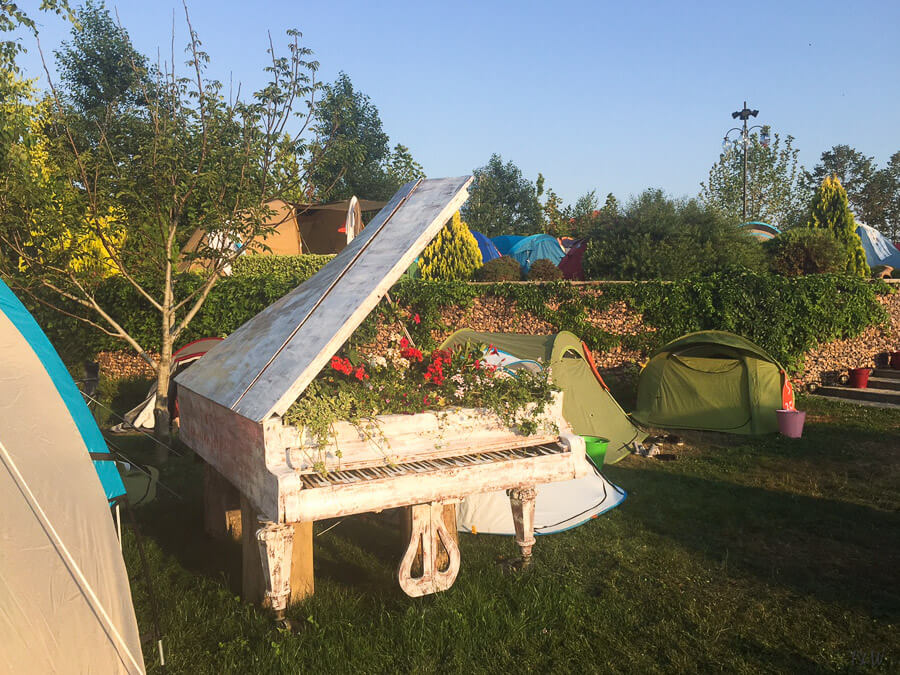 Sandalandala Camping in Vama Veche