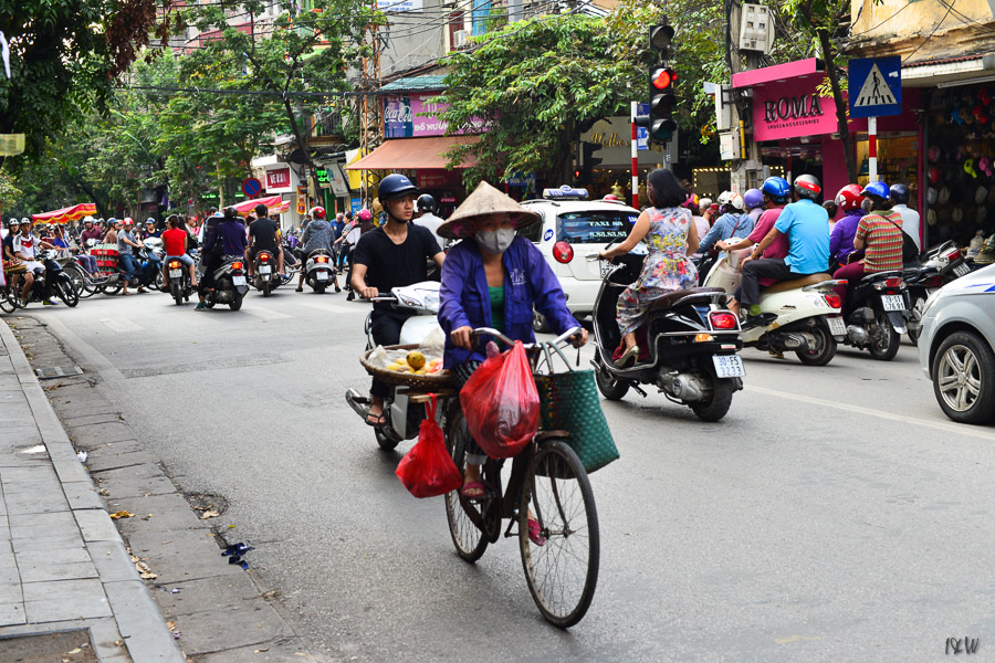 Hanoi Street Life, Vietnam