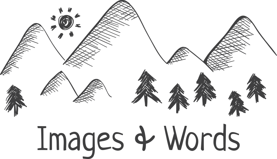 Images & Words | Personal Blog Logo