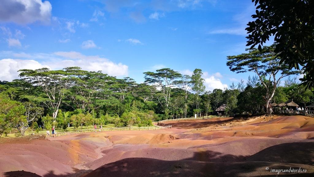 Seven Coloured Earth Chamarel Mauritius